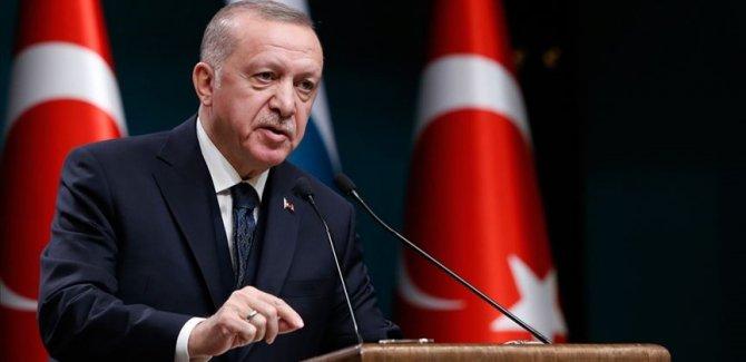 Erdoğan: Politikaların insan hakları ekseninde yapılandırılması gerekiyor