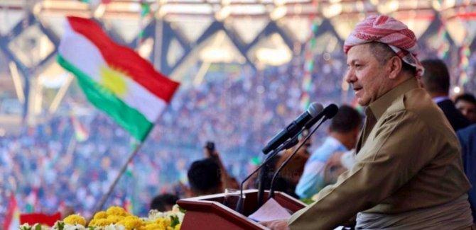 Barzani: Kürdistan Bayrağı sonsuza kadar gurur kaynağı olacak