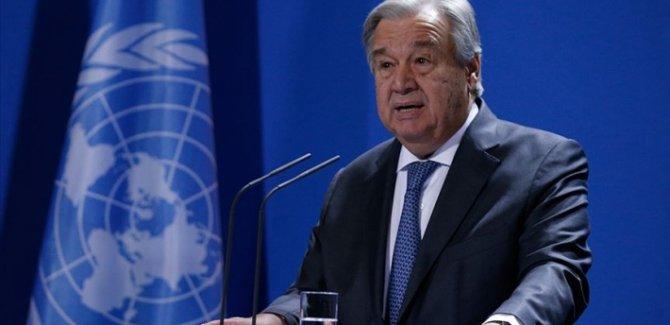 Guterres: Suriye'de siyasi bir çözüm olmalı