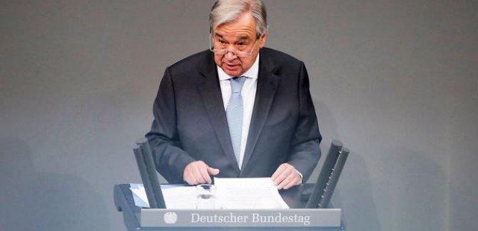 Guterres: 2021'i şifa yılı yapalım