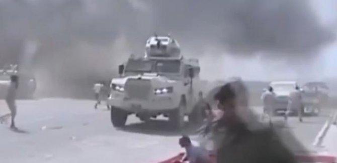 Yemen'de şiddetli patlama