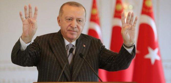 Erdoğan:Türkiye'yi 2023 hedeflerine ulaştırana kadar da durmayacağız