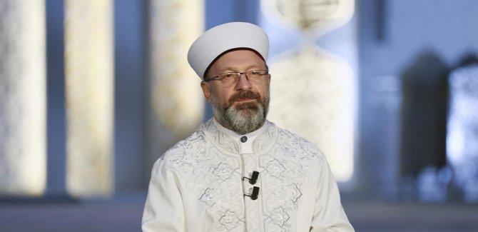 Erbaş: İslam dünyası ve Müslümanlar olarak derin bir muhasebe yapmaya ihtiyacımız var