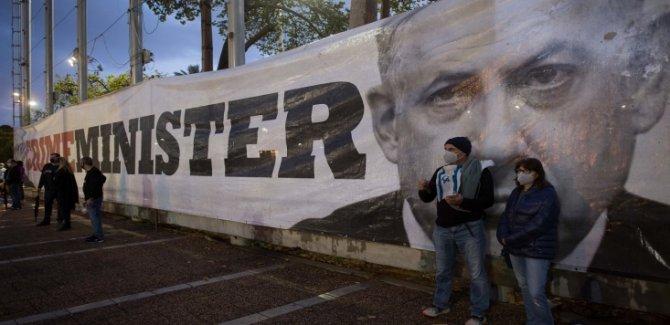 Protestocuların Saldırısı Sonucu Netanyahu Gizli Odada Saklandı