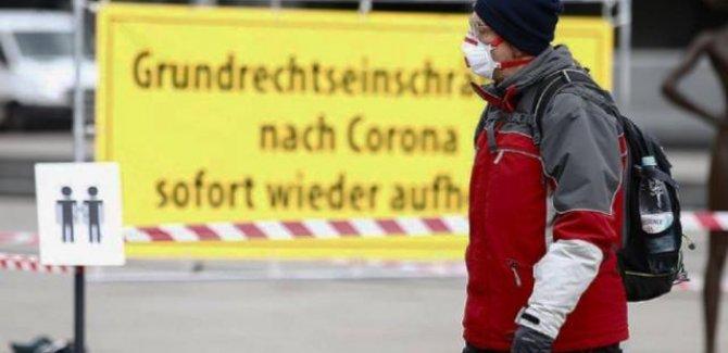 Almanya'da son 24 saatte 989 kişi hayatını kaybetti