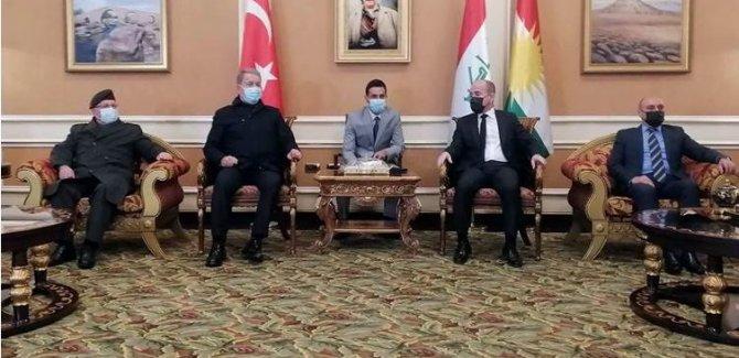 Hulusi Akar Erbil'de