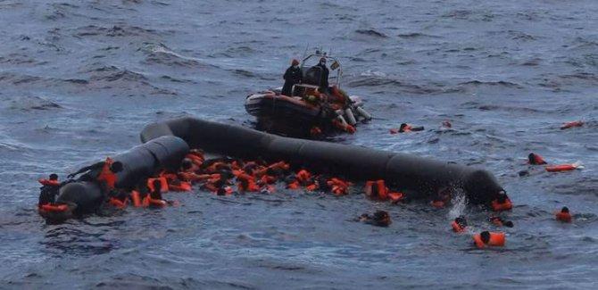 Libya açıklarında facia: 43 ölü