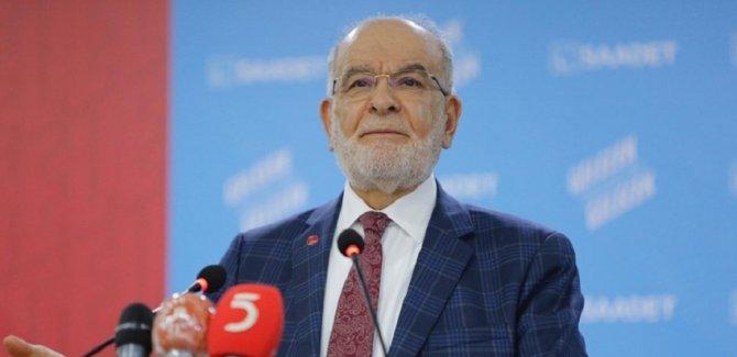 Karamollaoğlu: Saadet Partililerin olmadığı ekranlarda, Saadet Partisi konuşuluyor