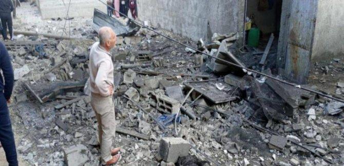 Gazze'de Korkunç Patlama