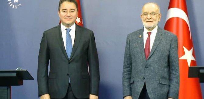 Babacan ve Karamollaoğlu'dan Erbil ve PKK sorusuna yanıt