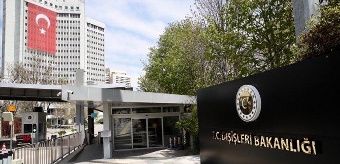 Dışişleri Bakanlığı: Türkiye'nin içişlerine müdahale etmeye kalkışmak kimsenin haddi değildir
