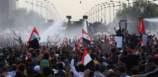 Irak'ta gösteriler: 1 ölü, 150 yaralı