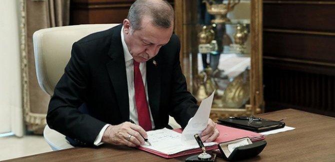 Cumhurbaşkanı Erdoğan'dan yeni atamalar