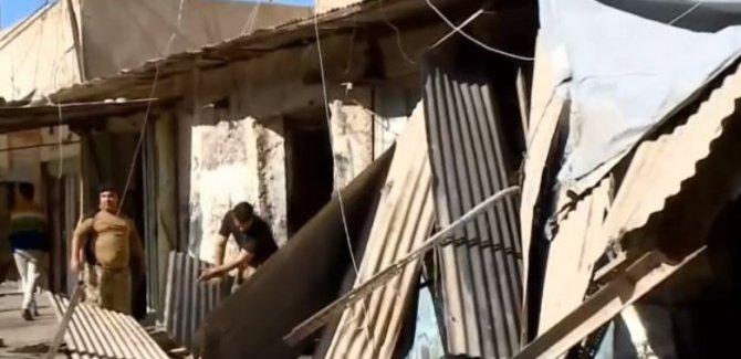 Kerkük'te Kürtlere ait 100'e yakın dükkan yıkıldı