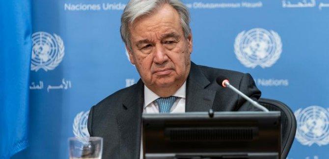 BM Genel Sekreteri: 130 ülkeye hiç aşı ulaşmadı