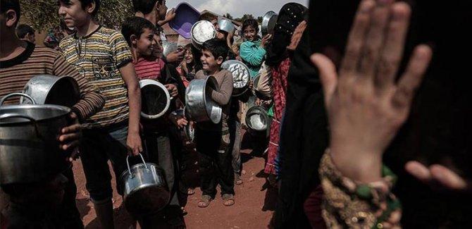 'Suriye'de 12 milyon kişi karnını doyuramıyor'