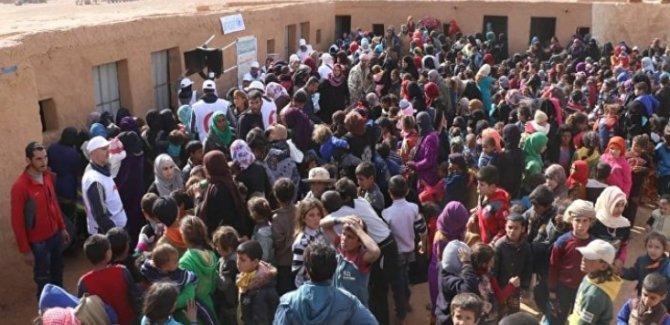 ABD, Rukban'daki Sığınmacıları Zorla Tutuyor