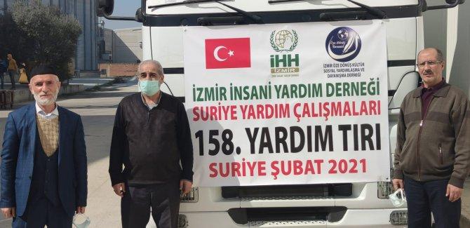 İzmir Özedönüş'ten Suriyeli Mültecilere Un Yardımı