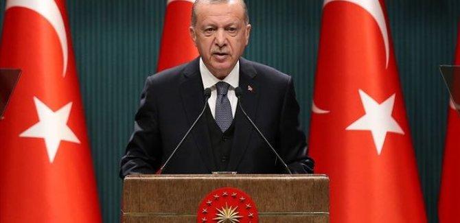 Erdoğan: Bugün kontrollü normalleşme sürecini başlatıyoruz