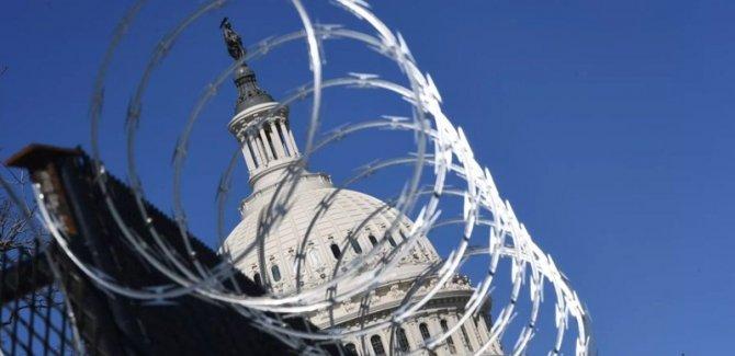 ABD Kongresi'nde 'baskın tehdidi' gerekçesiyle güvenlik artırıldı