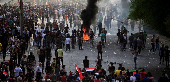 Irak'ın 5 kentinde protestolar başladı