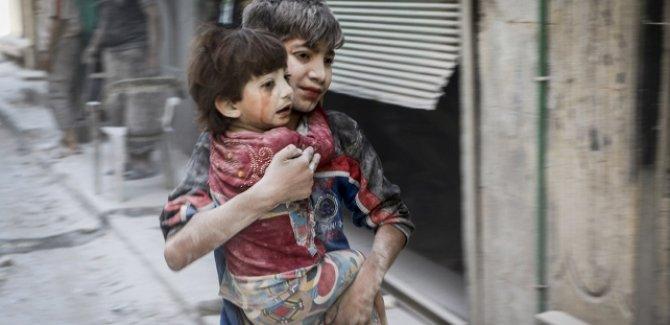 UNICEF: Suriye'de her 8 saatte 1 çocuk yaralandı veya öldü