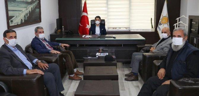 Adana Öze Dönüş Derneğinden Ak Parti İl Başkanlığına Ziyaret..