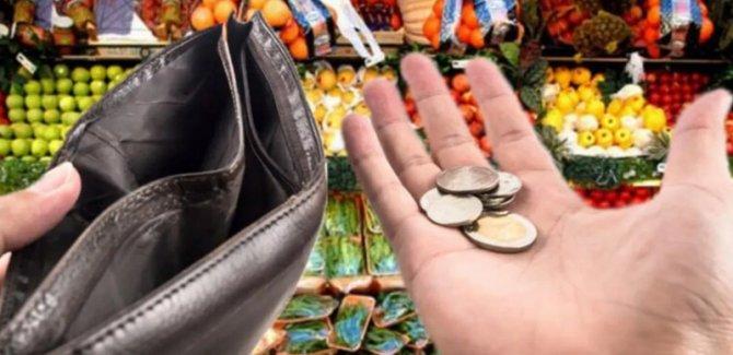 Türk-İş: 4 kişilik ailenin açlık sınırı 2 bin 736, yoksulluk sınırı 8 bin 912 lira