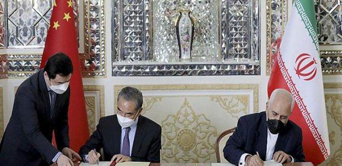 Çin'den İran'a petrol karşılığı 400 milyar dolarlık yatırım anlaşması