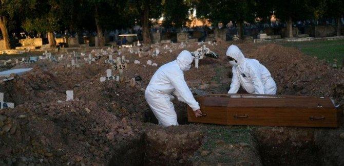 Brezilya'da son 24 saatte 3 bin 780 kişi öldü