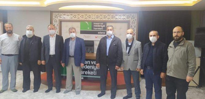 Adana Öze Dönüş Derneğinden İnsan Ve Medeniyet Hareketine Ziyaret
