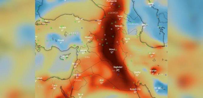Meteoroloji: Zehirli gaz bulutu bölgeye yaklaşıyor