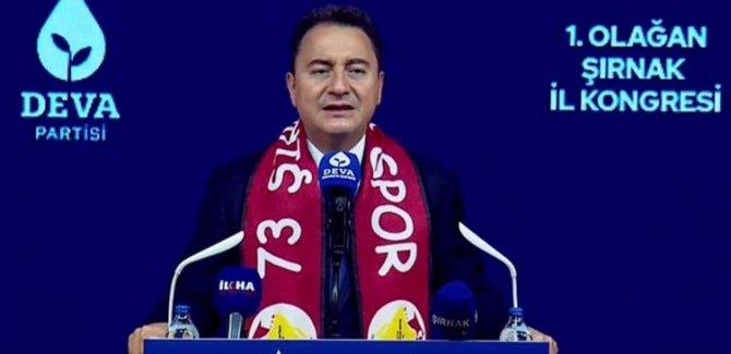 Ali Babacan: Kimse Roboski'nin hesabını vermedi