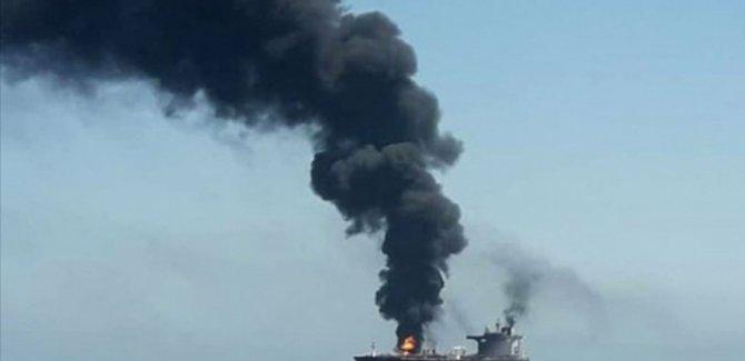 'İran'a ait bir İran gemisi, Kızıldeniz'de saldırıya uğradı'