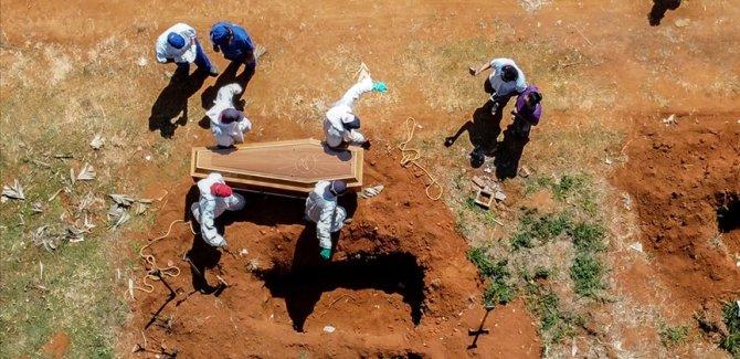Brezilya'da son 24 saatte 4 bin 195 kişi öldü