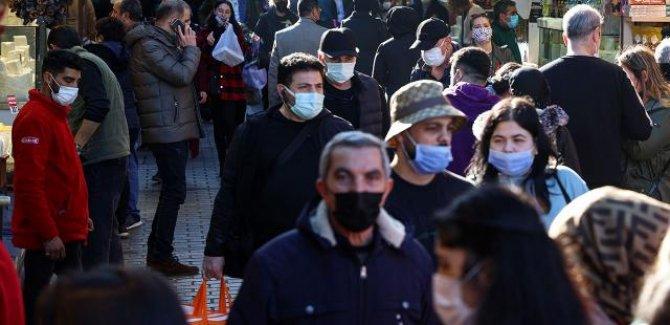 Türkiye'de vaka sayısı  60 bine dayandı