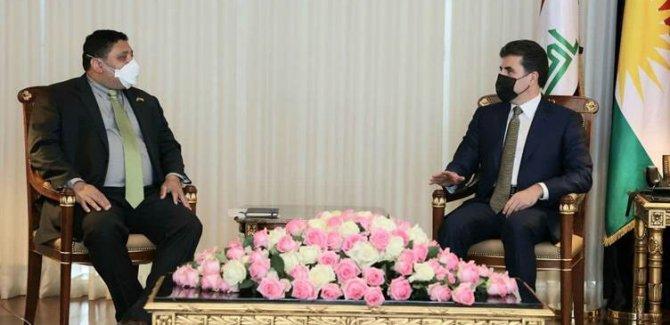 Neçirvan Barzani: Kürt sorunu Suriye içerisinde çözülmelidir
