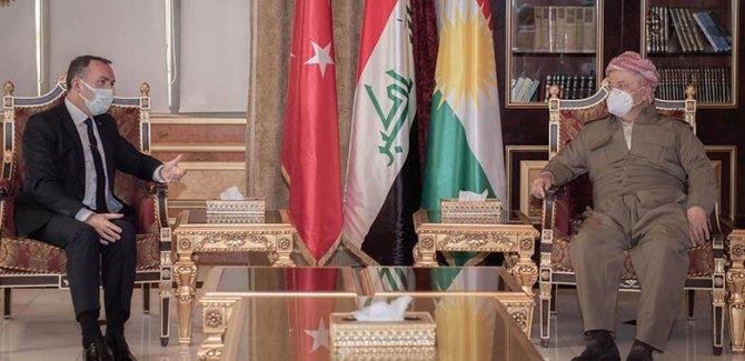 Barzani, Türkiye Büyükelçisi'yle ikili ilişkileri görüştü
