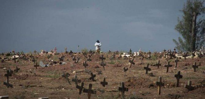 Brezilya'da son 24 saatte 3 bin 472 kişi öldü