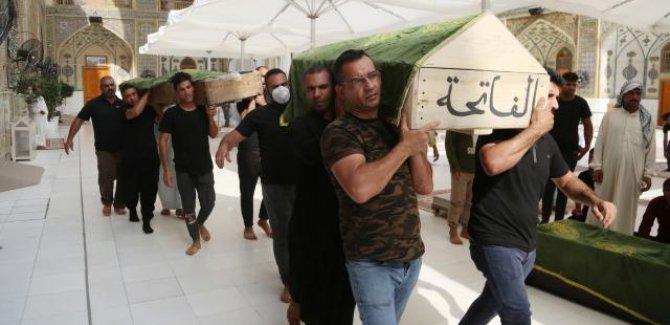Bağdat'taki hastane yangınında can kaybı 82'ye çıktı
