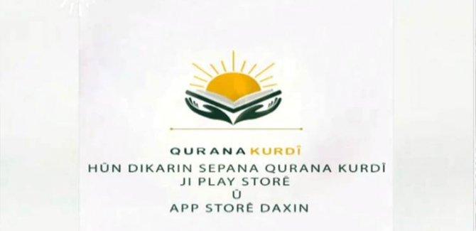 Kürtçe Kuran uygulaması playstore de