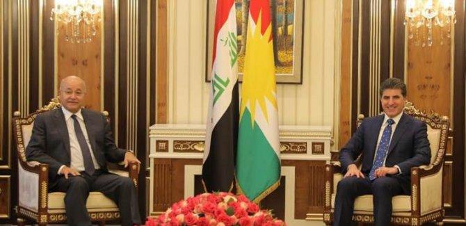 Neçirvan Barzani ile Berhem Salih ulusal birliği değerlendirdi