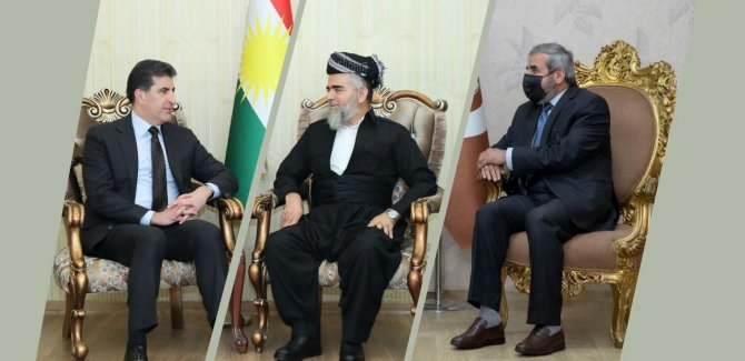 Neçirvan Barzani'den Komel ve Yekgirtu'ya ziyaret