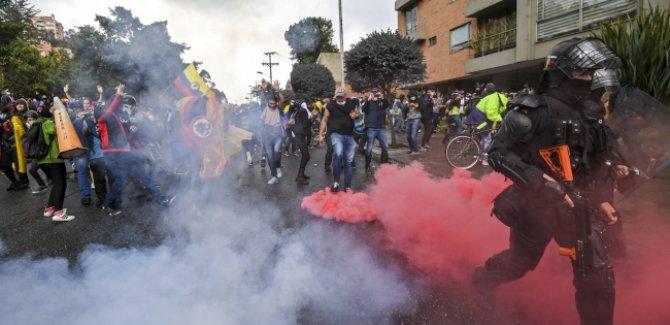 Kolombiya'da vergi reformu gösterileri:19 ölü,846 yaralı