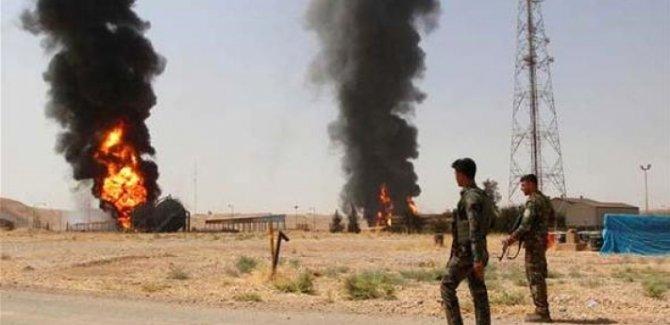IŞİD Kerkük'te petrol sahasına saldırdı!