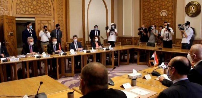 Mısır Dışişleri: Kahire'deki Türk heyeti ile görüşmeler başladı