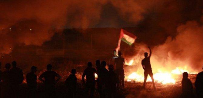 Filistin topyekun kıyamda: Kudüs'te direniş sürüyor, Gazze füzeleri ateşledi