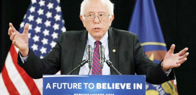 ABD Senatörü Sanders: İsrail'in kendini müdafaa hakkı vardı Filistin'in yok mu?