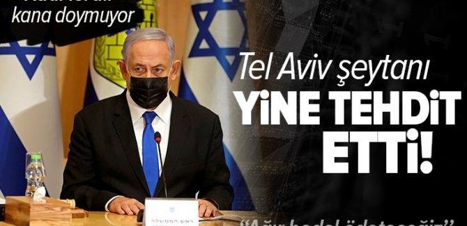 Netanyahu: Barbarlığa devam edeceğiz