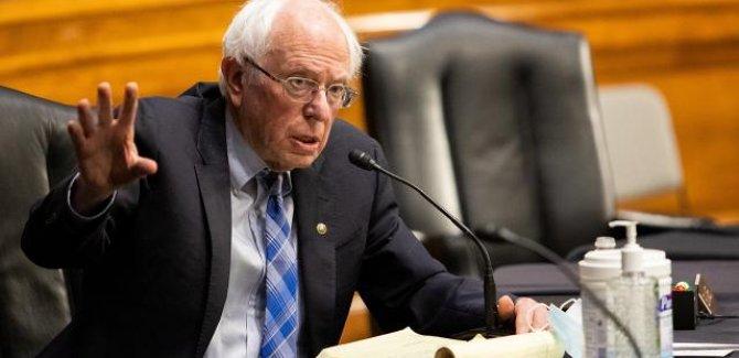 Senatör Sanders: 227 Filistinlinin hayatını kaybetmesi trajedi değil mi?